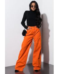 Dickies - 5 Pocket High Rise Wide Leg Pant - Lyst