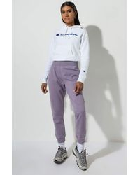 Champion - Womens Garment Dyed Reverse Weave JOGGER - Lyst