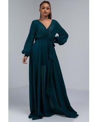 AKIRA - Summer Vibes Maxi Dress - Lyst