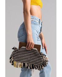 AKIRA - Audacious Yarn Clutch Bag - Lyst