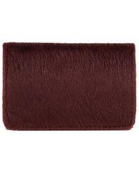 AKIRA - Keyla Horse Hair Card Wallet - Lyst