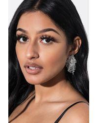 AKIRA - Starburst Rhinestone Earring - Lyst