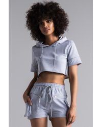 AKIRA - Zippers And Beyond Knit Short - Lyst
