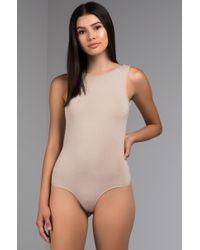 f440df6abc PAXTON - Ashley Low Back Bodysuit - Lyst