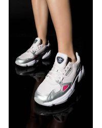 adidas - Womens Falcon Sneaker - Lyst