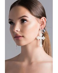 AKIRA - See No Wrong Statement Earring - Lyst