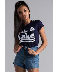 AKIRA - Wake And Lake Graphic Tshirt - Lyst
