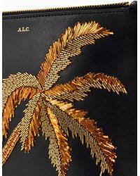 A.L.C. - Joni Palm Tree Embroidery Handbag - Lyst