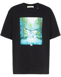 Off-White c/o Virgil Abloh - Waterfall T-shirt - Lyst