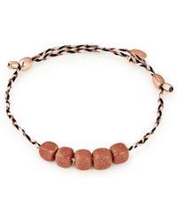 ALEX AND ANI - Howlite Gemstone Precious Threads Bracelet - Lyst