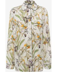 Alexander McQueen - Wild Iris Pyjama Top - Lyst