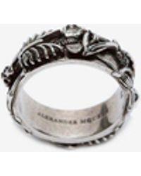 Alexander McQueen - Dancing Skeleton Ring - Lyst