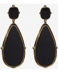 Alexander McQueen - Frame Earrings - Lyst