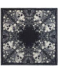 Alexander McQueen - Muse Skull Scarf - Lyst
