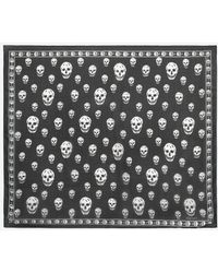 Alexander McQueen - Skull Silk Scarf - Lyst