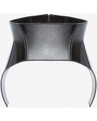 Alexander McQueen - Beetle Leather Corset - Lyst