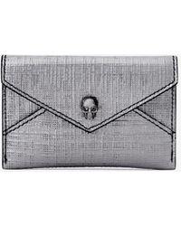 Alexander McQueen - Skull Envelope Card Holder - Lyst