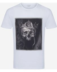 Alexander McQueen - Crowned Skull T-shirt - Lyst