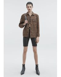 Alexander Wang - Daze Denim Jacket - Lyst