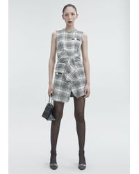 Alexander Wang - Deconstructed Tweed Dress - Lyst