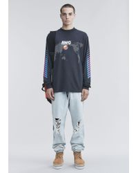 Alexander Wang - Awg Long Sleeve Shirt - Lyst