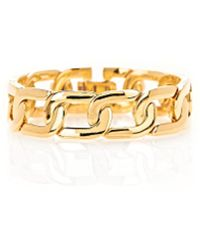 Alexander Wang - Exclusive Yellow Gold Curb Chain Bracelet - Lyst