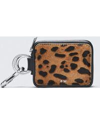 Alexander Wang - Leopard Zip Keychain - Lyst