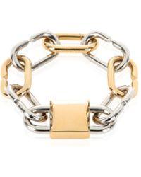 Alexander Wang - Broken Link Double Lock Bracelet - Lyst