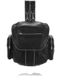 Alexander Wang - Ball Stud Marti In Black With Rhodium - Lyst