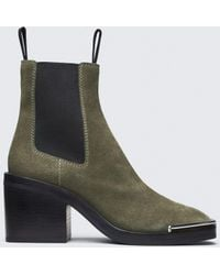 Alexander Wang - Suede Hailey Boot - Lyst