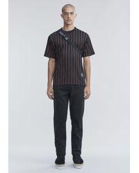 Alexander Wang - Pinstripe Jersey T-shirt - Lyst