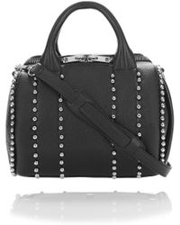Alexander Wang - Exclusive Ball Stud Rockie In Matte Black With Rhodium - Lyst