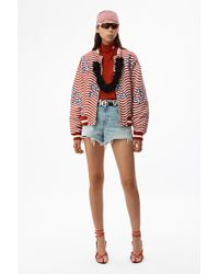 Alexander Wang - Stars And Stripes Bomber - Lyst