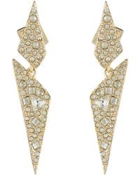 Alexis Bittar - Crystal Encrusted Origami Earring You Might Also Like - Lyst