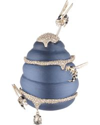 Alexis Bittar | Crystal Encrusted Enamel Accented Hornets & Honey Pin You Might Also Like | Lyst