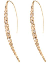 Alexis Bittar - Encrusted Spear Earring With Infinity Wire You Might Also Like - Lyst