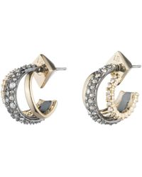 Alexis Bittar - Crystal Encrusted Orbiting Hoop Earring You Might Also Like - Lyst