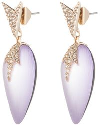Alexis Bittar - Crystal Encrusted Dangling Starburst Post Earring - Lyst