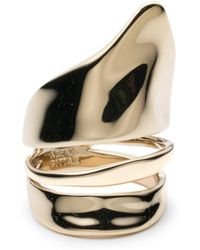 Alexis Bittar - Liquid Gold Armor Ring You Might Also Like - Lyst