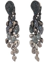Alexis Bittar - Crystal Encrusted Ombre Paisley Clip Earring - Lyst