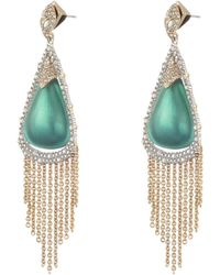 Alexis Bittar - Crystal Tassel Lucite Earrings - Lyst