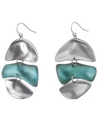 Alexis Bittar - Liquid Rhodium Mobile Earring - Lyst