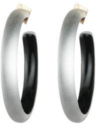 Alexis Bittar - Large Hoop Earring - Lyst