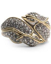 Alexis Bittar - Crystal Encrusted Secret Lovebirds Ring - Lyst