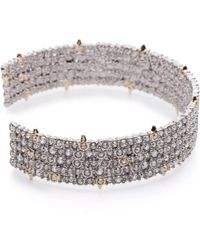 Alexis Bittar - Crystal Lace Cuff You Might Also Like - Lyst