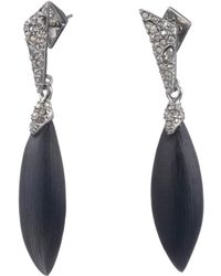 Alexis Bittar - Crystal Encrusted Dangling Post Earring - Lyst
