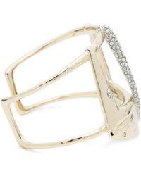 Alexis Bittar - Wide Buckle Cuff Bracelet - Lyst