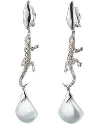 Alexis Bittar - Crystal Encrusted Lizard Clip Earring - Lyst
