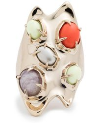 Alexis Bittar - Sculptural Stone Cluster Cocktail Ring - Lyst