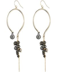 Alexis Bittar | Crystal Encrusted Dangling Pearl Wire Earring You Might Also Like | Lyst